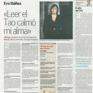El Periodico, Interview about El Tao, un