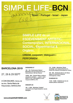 POSTER SIMPLELIFE BCN