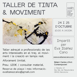 TALLER TINTA & MOVIMENT