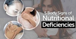 5 Signs of Nutritional Deficiencies
