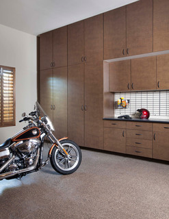 Bronze Extra Tall Cabinets-Inset Workbench