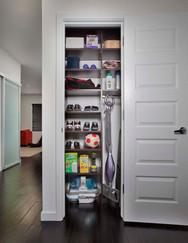 Chocolate Pear Utility Closet