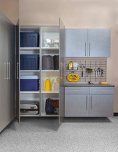 Pewter Cabinets Ebony Workbench
