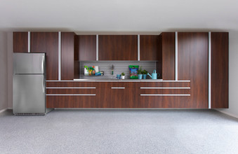 Coco Garage Extruded Handles Stainless Workbench