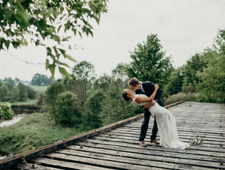 KARISSA + BRANDON | STRING-LIT BACKYARD WEDDING