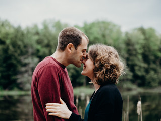 JULIA + NATHAN | HURON NATURAL ENGAGEMENT SESSION