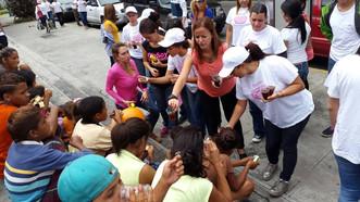 Venezolanos impulsan alimentación comunitaria desde el voluntariado social