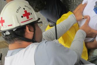 Conciencia solidaria mueve a los voluntarios de la Cruz Roja