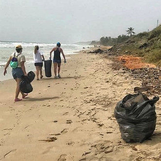 Voluntarios se suman a limpieza de petróleo en Los Roques