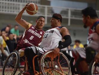 Venezuela comenzó ganando la Copa América de baloncesto en silla de ruedas