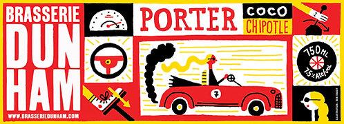 Porter Coco Chipotle- 7,5 alc./vol. - 750 ml