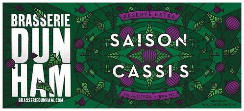 Saison Cassis- 7,0 alc./vol. - 500 ml