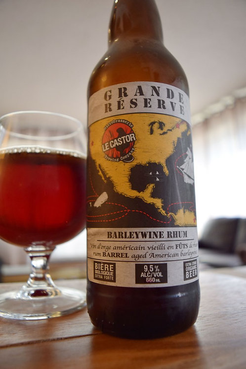 Barley Wine Rum Grande réserve - 9,5% alc/vol. - 660 ml