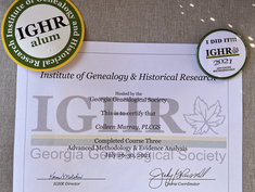 Another Institute course certificate *and swag!