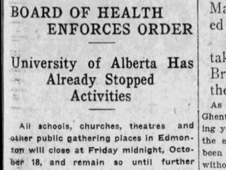 Albertans in the 1918 pandemic