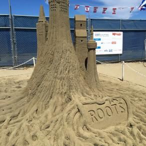 Roots Sand Sculpture