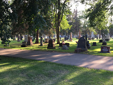 Summer Graveyard Visits
