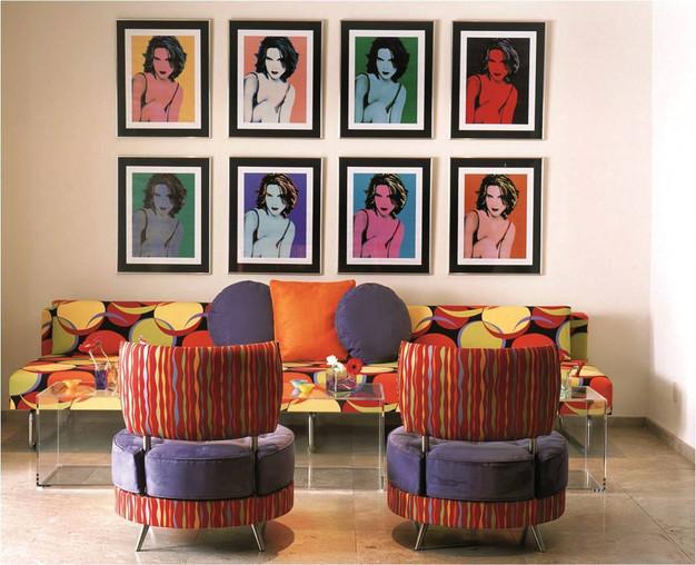 Cinco tips para decorar tu sala a base de cuadros ...