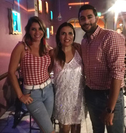 Alexandra Horler y Luis Castañeda Pardo