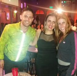 Lucas Piro y Fiorella Cayo