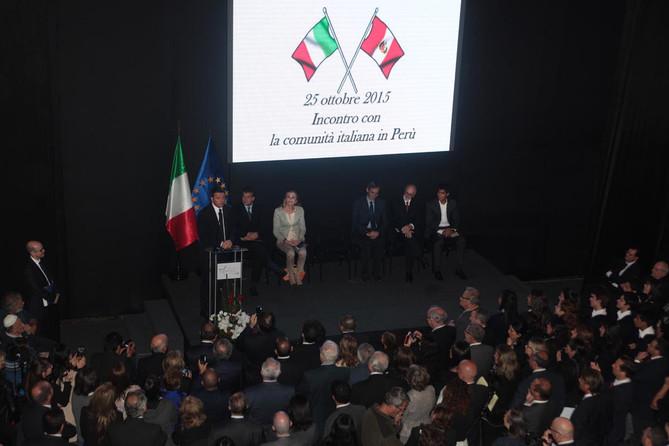 Bienvenido Matteo Renzi / Benvenuto  Matteo Renzi