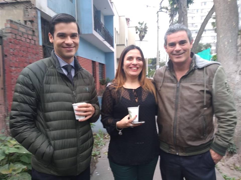 Jesus Neyra y Julián Legaspi