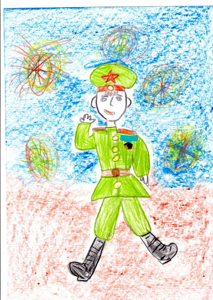 Ахметова Соня 6 лет, Сын полка.jpg