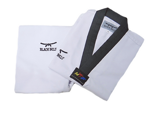 """Classic"" Taekwondo Uniform - Black Belt"
