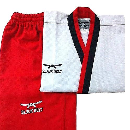 "Poomsae Female ""Poom"" Uniform - Black Belt"
