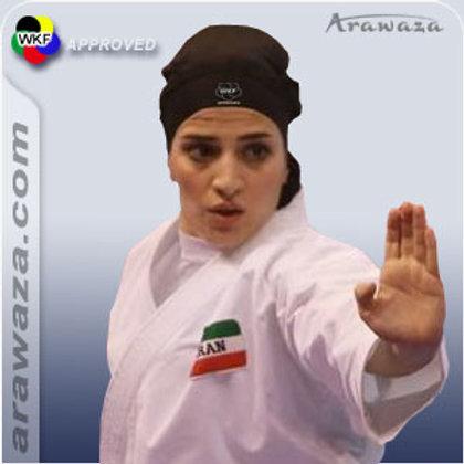 Hijab Karate WKF Approved Arawaza