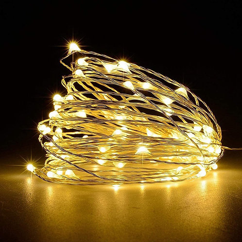 A&S HOME Fairy String Lights - 50LED