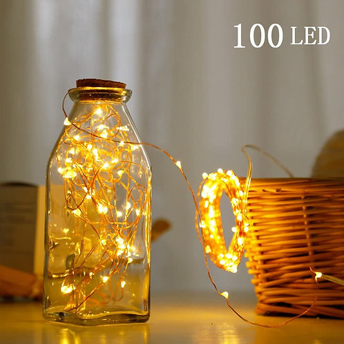 A&S HOME Fairy String Lights - 100LED