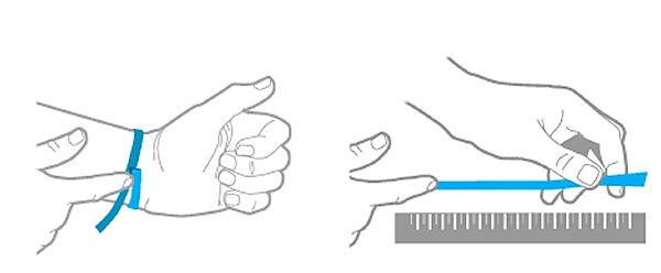 Cómo saber la medida de una pulsera