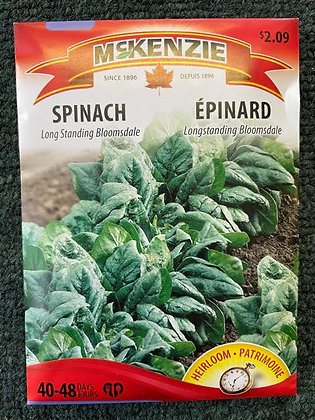 Spinach Long Standing  -  McKenzie