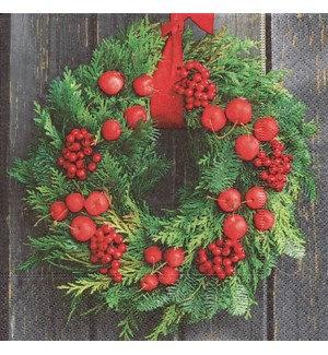Napkin Luncheon - Door Wreath