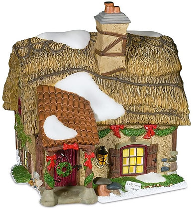 Dept 56   Hollyberry Cottage