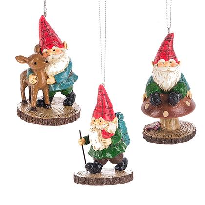 """Adventure Gnome Ornament 3.5"""""""