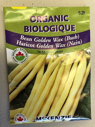 Bean Golden Wax - McKenzie Organic