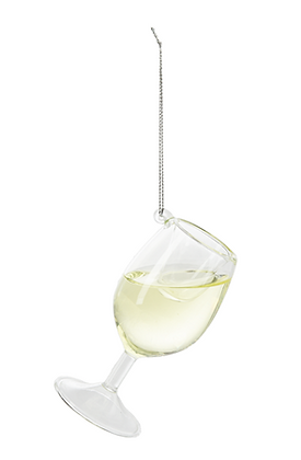 Cheer Donnay Wine Ornament