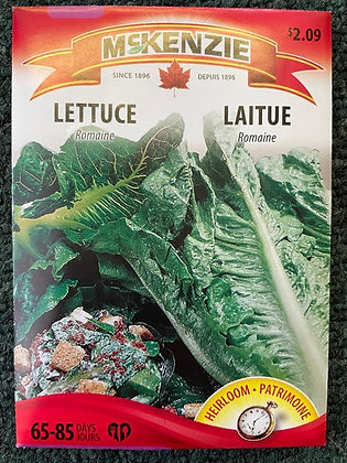Lettuce Romaine- McKenzie