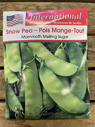 Pea Snow Mammoth Melting Sugar  -  Aimers International