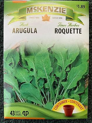 Arugula  -  McKenzie  Seed