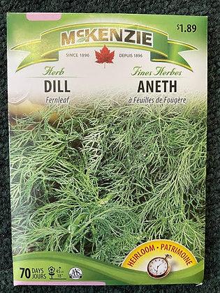 Dill Fernleaf -    McKenzie Seed
