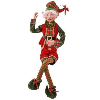 Red/Green Bendable Elf