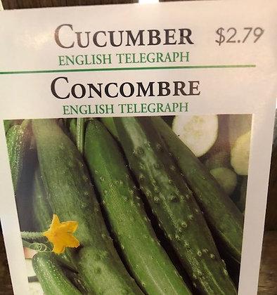 Seed - OSC - Cucumber English Telegraph