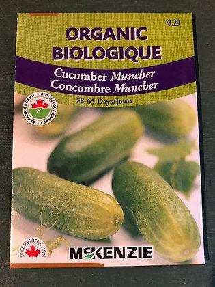 Cucumber Muncher  -  McKenzie  Organic