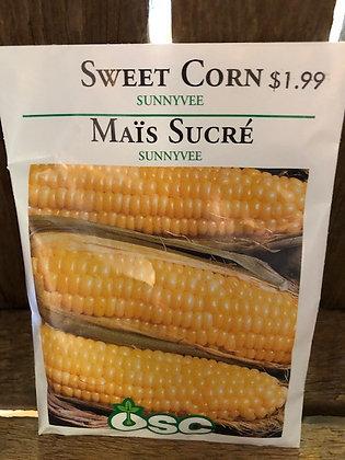 Seed - OSC - Sweet Corn Sunny Vee