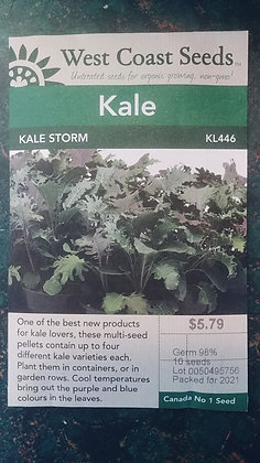 Kale Storm- West Coast Seeds
