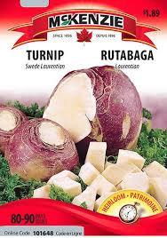 Rutabaga Swede Laurentian -  McKenzie