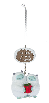 The Best is Yeti to Come! Ornament